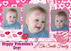 valentine's day Kiss Photo Card   Personalized by TheIndigoStudio, $11.00