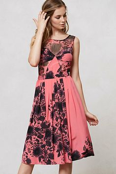 Love the color and pattern!! Kimono Floral Maxi Dress #anthropologie