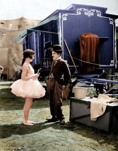 vintage everyday: 18 Interesting Colorized Photos of Charlie Chaplin from between the 1910s and 1930s