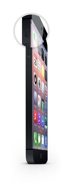 iPhone 6.  An edgy concept. by JohnnyPlaid, via Behance