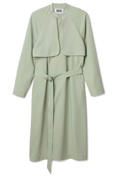 This is a long, oversized trench coat. It has storm flaps on the front and a removable belt. In a size small this trench coat measures 112 cm in length and 108 cm around the chest. The sleeve length is 75 cm. Long Beige Coat, Beige Trench Coat, Look 2015, Passion For Fashion, Autumn Winter Fashion, Catwalk, Spring Summer, Fashion Outfits, Fashion 2014