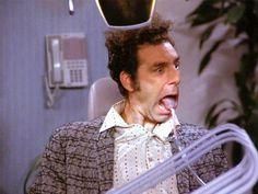 You remember Mr. Thirsty Kramer #Seinfeld