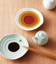 これはうまい。醤油を注すと睡蓮が咲く皿「Haas (ハース)」 - DDN JAPAN