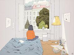Daydreamer  by Gunseli S.
