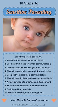 Great parents have something very special in common - sensitivity! Research shows that sensitivity is a powerful trait of parents. Please share this important information with a parent who can benefit from learning what really works!