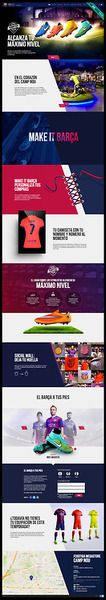 Retail shop site focused on ux/ui to show the Barça experience, options to interact with brand, unique personalized shopping & exclusive avails of being the only store at the Camp Nou. This website's url is:fcbmegastore.comand designed by Plastic Creative Studio (plasticbcn.com)