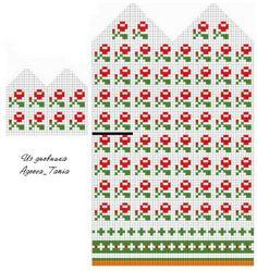 Schemes of mittens: 14 thousand images found in Yandex. Crochet Mittens Free Pattern, Easy Knitting Patterns, Knit Mittens, Knitting Charts, Knitted Gloves, Knitting Socks, Baby Knitting, Cross Stitch Patterns, Fair Isle Knitting