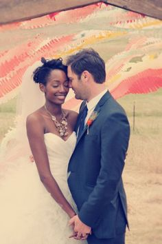 Interracial Wedding Beautiful | Beautiful #Interracial #Bride #Groom | Wedding Photogs