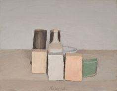 Giorgio Morandi, Natura morta (Still Life), 1956, oil on canvas. ©2015 ARTISTS RIGHTS SOCIETY (ARS), NEW YORK/SIAE, ROME/PRIVATE COLLECTION, SWITZERLAND