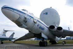 "Myasishchev VM-T Atlant, on display at ""Aviation Legends"" area of MAKS2015"