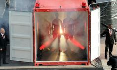 Liverpool players held inside shipping container at 2014/15 home kit launch