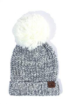 77db18f3e3e CC Pom Beanie in Ivory. Sweater WeatherWinter Hats