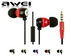 Awei Q38i In Ear Super Bass Earphones with volume control