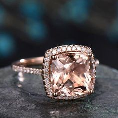 This engagement ring set was designed by Camellia Jewelry. This diamond engagement Ring is set with a ct. round cut natural diamond set on the top of camellia flower . To achieve this stunning look, Weve created a matching diamond wedding band set in Wedding Rings Solitaire, Princess Cut Engagement Rings, Rose Gold Engagement Ring, Bridal Rings, Vintage Engagement Rings, Oval Engagement, Halo Rings, Princess Wedding, Vintage Princess