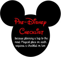 pre-DisneyWorld checklist http://www.lifeinthegreenhouse.com/?s=disney+check+list