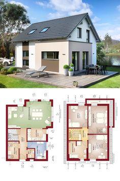 Einfamilienhaus mit klassischer Satteldach-Architektur - Haus Edition 2 V5 Bien Zenker Fertighaus - HausbauDirekt.de