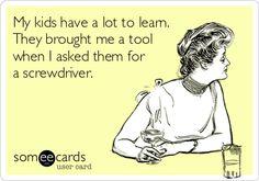 Oh My Freaking Stars!: Kids & Tools