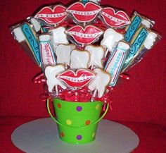 Super cute idea as a gift to referring offices!
