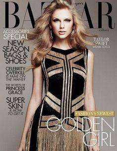 Taylor Swift Cover Harper's Bazaar Magazine April 2012