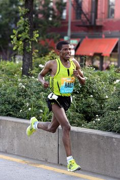 Haile Gebrselassie, a great long distance runner. #run #idol #athlete