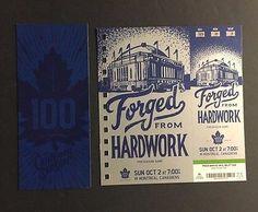 2016-1st-Game-For-Mitch-Marner-In-Toronto-NHL-Maple-Leaf-Hockey-Ticket