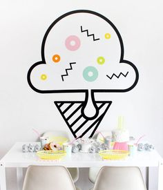 Party Wall Decals |