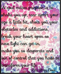 Best quote from the book, Eat Pray Love. #EatPrayLove #ElizabethGilbert