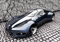 Peugeot Onyx Concept Car.