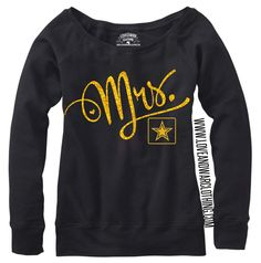 LOVEANDWARCLOTHING - MRS. Army Top, $24.95 (http://www.loveandwarclothing.com/mrs-army-top/)