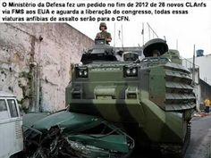 Modernizações das Forças Armadas Brasileiras.
