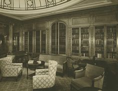 RMS mauretania interiors | Recent Photos The Commons Getty Collection Galleries World Map App ...