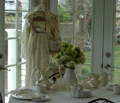Penny's Vintage Home: Snowballs, Crochet, and Ironstone