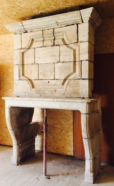 Fantastisch Cheminée à Trumeau En Pierre. De La Collection Pierredefrance Vue Chez  Materiaux Du0027Autrefois