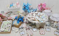 Bolachas artesanais decoradas - lembrancinhas para chá de bebê!