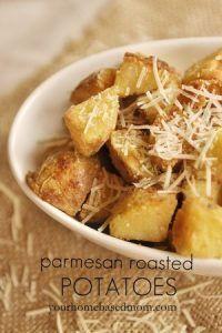 parmesan roasted potatoes@yourhomebasedmom.com