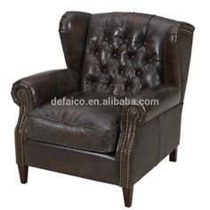 Antique And Vintage Leather Chesterfields Wingback Chair Photo, Detailed about Antique And Vintage Leather Chesterfields Wingback Chair Picture on Alibaba.com.