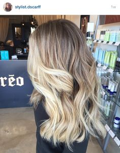 Sombre. Ombré. Ash blonde hair. Blonde hair. Thick hair