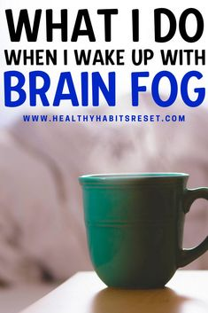 How I tackle brain fog before it really takes hold. #brainfogtips #brainfogthyroid #hashimotosbrainfog Thyroid Symptoms, Rheumatoid Arthritis Symptoms, Thyroid Health, Mental Health, Chronic Fatigue Treatment, Chronic Disease Management, Chronic Illness Quotes, Natural Remedies For Anxiety