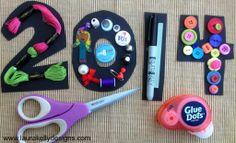 2014 Glue Dots Craft Stash Challenge | Laura Kelly's Inklings #crafting #scrapbooking #DIY