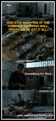 Carol goes shopping at Terminus