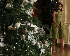 Pin for Later: You'll Want to Take a Page From the First Lady's Holiday Dressing Handbook