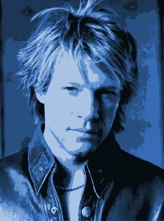 Jon Bon Jovi Pop Art Paint By Number Kit by NumberedArt on Etsy, £29.99