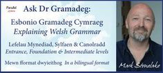 The digital magazine parallel.cymru presents Welsh grammar in graded, bite-sized, bilingual chunks- free and accessible to all! Cymru, Digital Magazine, Welsh, Short Stories, Grammar, Presents, Free, Gifts, Welsh Language