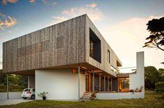 Lagoon Beach House on Tasmania by Birrelli Architects