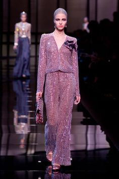 20 of our favorite luxury runway looks: Armani Prive Couture Spring 2014.
