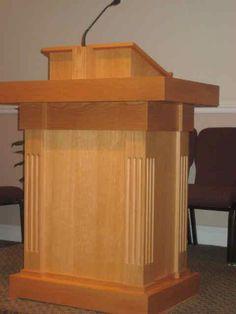Intelligent Design Woodwork - Church Pulpit
