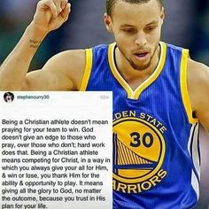 AMEN, EXACTLY! Even if you are not a huge Basketball fan but still a Christian, you will love this quote. People think praying is all about getting what you want like a Genie from Aladdin, when in reality it's about praying for #Hope #Faith and being #Thankful for the #Blessings we have, showing our #Humility as a #Christian #Soldier. Stephen Curry Quotes, Nba Stephen Curry, Stephen Curry Basketball, Basketball Motivation, Basketball Memes, Basketball Players, Baseball Sport, Basketball Baby, Basketball Tickets