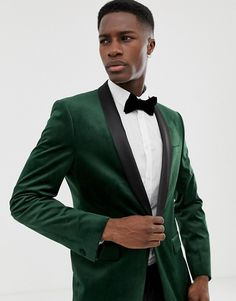 Green Tuxedo, Forest Wedding, Suit Jacket, Suits, Jackets, Fashion, Down Jackets, Moda, Fashion Styles