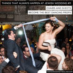 15 Things That Always Happen At Jewish Weddings