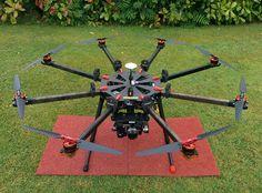 Drone Tech UK TL8X000 Octocopter DJI A2 / Not DJI S1000 or Hexacopter / RTF | eBay
